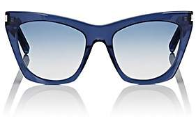 Saint Laurent Women's SL 214 Kate Sunglasses - Blue