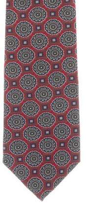 Christian Dior Patterned Silk Tie