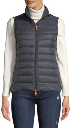 Save The Duck Zip-Front Puffer Vest