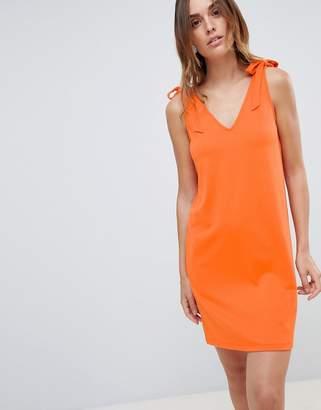 Pieces Tie Shoulder Cami Dress