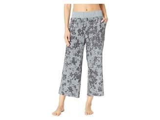 Splendid Crop Flare Pajama Pants