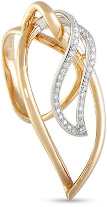 Luca Carati 18K Two-Tone 0.31 Ct. Tw. Diamond Ring