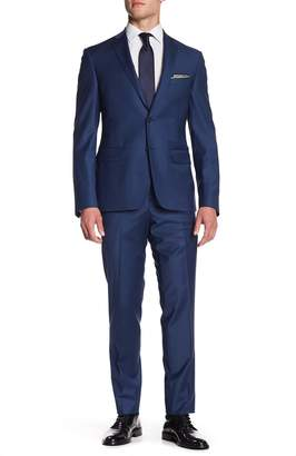 Nordstrom Solid Trim Suit