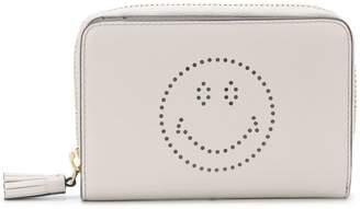 Anya Hindmarch Smile zip around wallet
