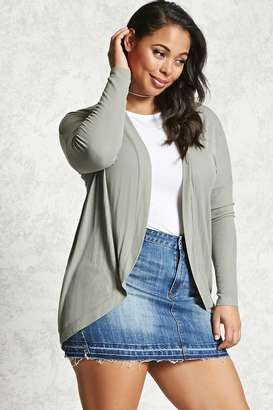 FOREVER 21+ Plus Size Cocoon Cardigan $17.90 thestylecure.com