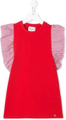 Mariuccia Milano Kids striped sleeve T-shirt dress