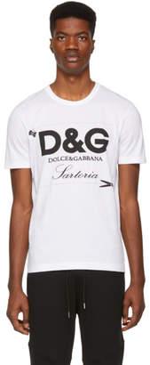 Dolce & Gabbana White Sartoria T-Shirt