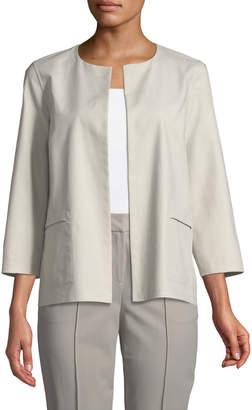 Lafayette 148 New York Alejandra Bracelet-Sleeve Jacket