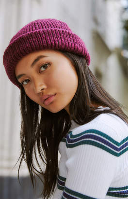 LA Hearts Fold Over Beanie
