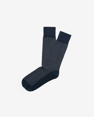 Express Pindot Dress Socks