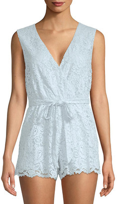 Lovers + Friends Lovers & Friends Miami Sleeveless Lace Romper
