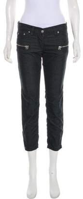 Etoile Isabel Marant Cropped Low-Rise Pants