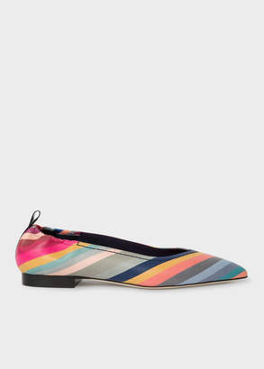 Paul Smith Women's 'Swirl' Print 'Lima' Leather Pumps