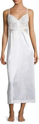 La Perla Women's Long Silk-Blend Nightgown