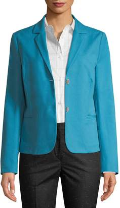 Piazza Sempione Women's Button-Front Blazer