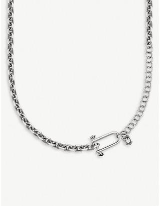 Thomas Sabo Rebel at Heart iconic skull silver necklace