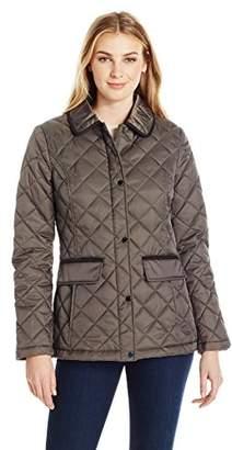 Lark & Ro Women's Quilted Barn Jacket