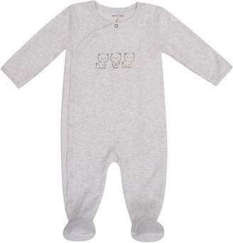 Petit Lem Baby's Bear Footed Sleeper