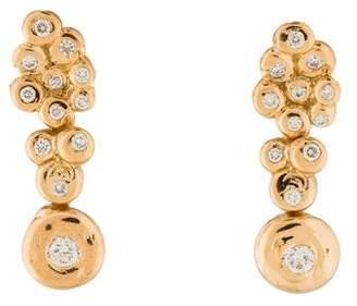 Lucifer Vir Honestus 18K Diamond Drop Earrings