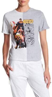 ELEVENPARIS Justice League & Wonder Woman Split Tee $70 thestylecure.com