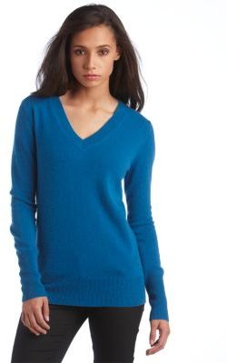 Lord & Taylor Cashmere Boyfriend Sweater