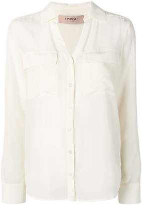Twin-Set relaxed button up shirt