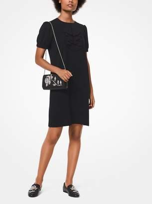 MICHAEL Michael Kors Ruffle-Front Shift Dress