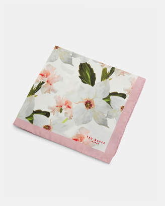 Ted Baker SOFEST Chatsworth Bloom silk pocket square