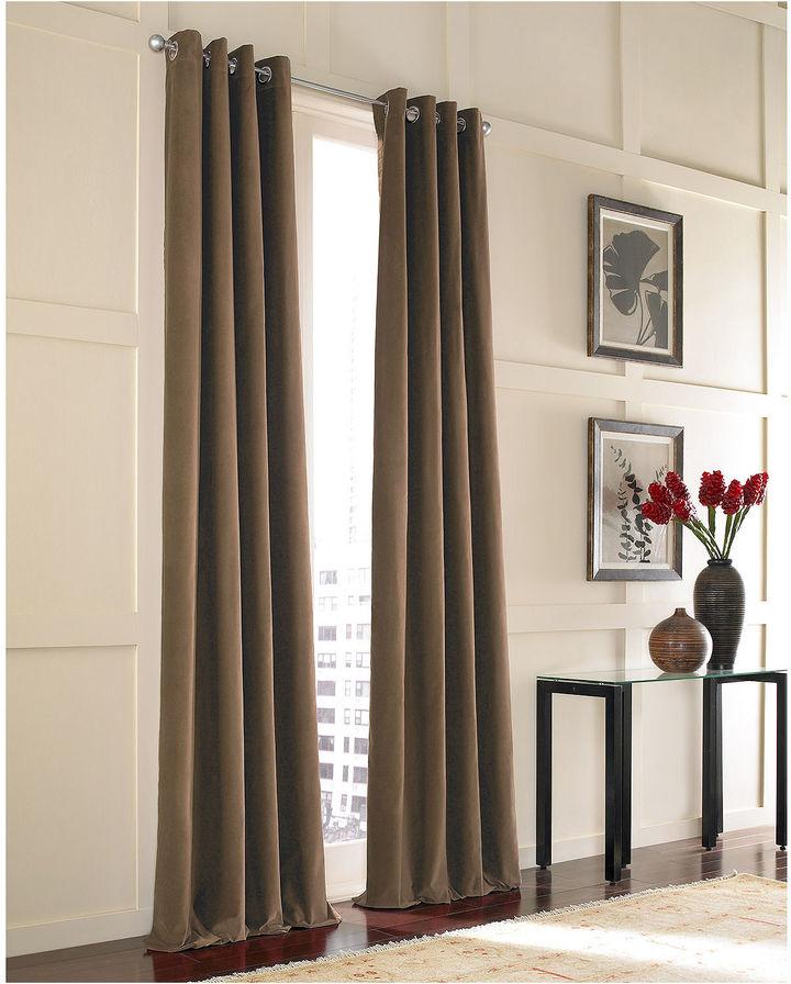 CHFChf Messina Velvet Grommet-Top Curtain Panel