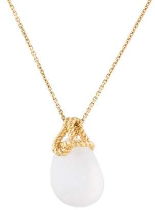 Links of London 18K Golden Shores Pendant Necklace