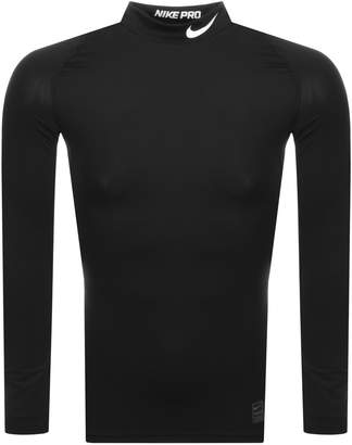 Nike Training Compression Logo T Shirt Black