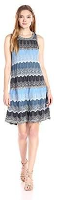 Heather B Women's Multi Color Sweater Dress