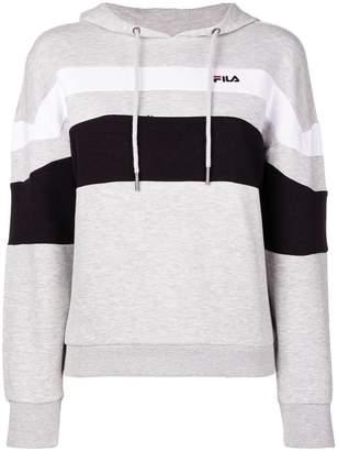 Fila (フィラ) - Fila striped hoodie