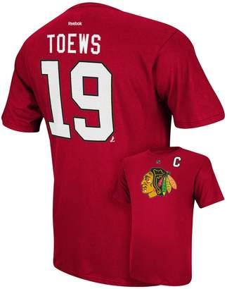 Reebok Men's Chicago Blackhawks Jonathan Toews Player Tee - Men