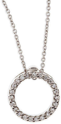 Roberto Coin Tiny Treasure Circle of Life Necklace with Diamonds