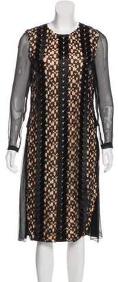 Prabal Gurung Long Sleeve Midi Dress w/ Tags