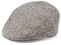 Saks Fifth Avenue Men's COLLECTION Tweed Ivy Cap with Ear Flaps