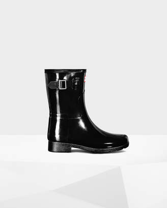Hunter Women's Original Short Refined Gloss Rain Boot