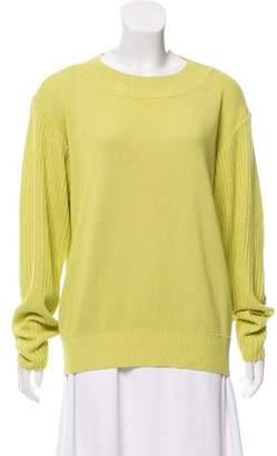 Issey Miyake Crew Neck Long Sleeve Sweater