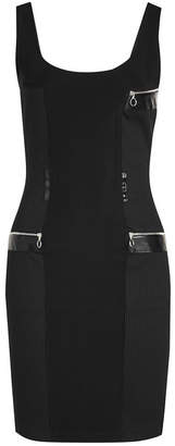 Paco Rabanne Fitted Tank Dress with Zipped Pockets