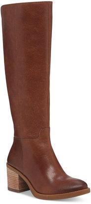 Lucky Brand Women's Ritten Wide-Calf Tall Boots $209 thestylecure.com