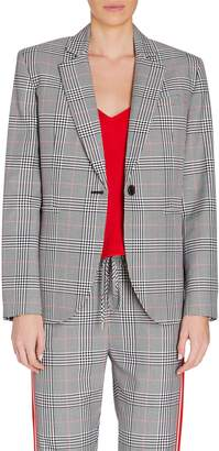 Monse Glen Plaid Wool Blazer