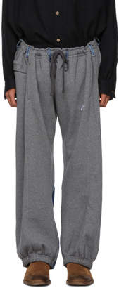 Bless Grey and Indigo Reconstructed Overjogging Lounge Pants