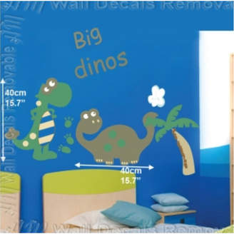 Big DiNOs Kids Removable Wall Sticker