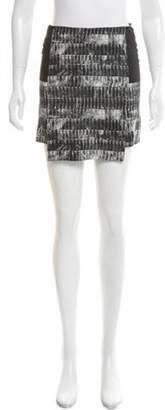 Reed Krakoff Printed Mini Skirt Black Printed Mini Skirt