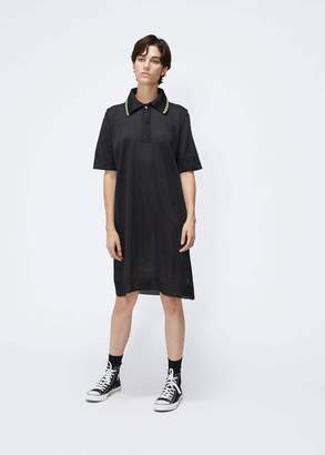 MM6 MAISON MARGIELA Short Sleeve Polo Dress