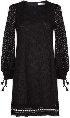 See by Chloe Lace Balloon Sleeve Dress