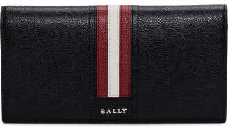 Bally Continental Leather Travel Wallet