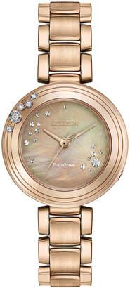 Citizen 28mm Carina Bracelet Watch, Rose Golden