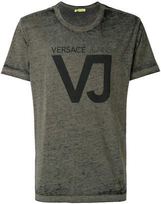 Versace VJ print T-shirt